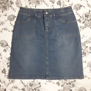 Vintage | Polo Ralph Lauren Denim Jean Skirt 29 in